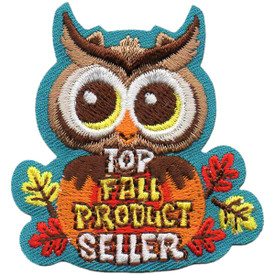 S-5034 Top Fall Product Seller Patch