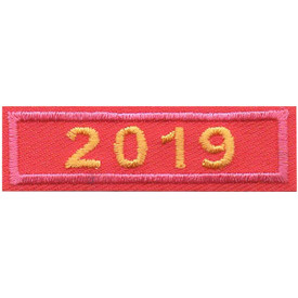 S-5045 2019 Pink Year Bar Patch