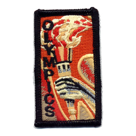 S-0443 Olympics (Hand W/ Torch) Patch