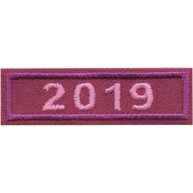 S-5048 2019 Purple Year Bar Patch