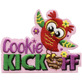 S-5070 Cookie Kick Off Patch