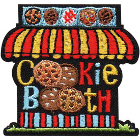 S-5071 Cookie Booth Patch