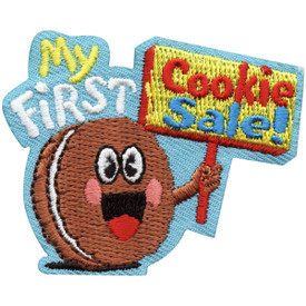 S-5073 My First Cookie Sale! Patch