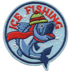 S-5074 Ice Fishing Patch