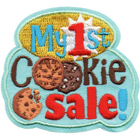 S-5077 My 1st Cookie Sales Patch