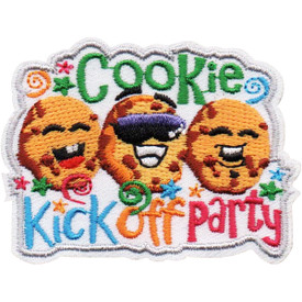 S-5079 Cookie Kick Off Party Patch
