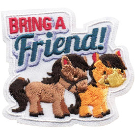 S-5083 Bring A Friend Patch