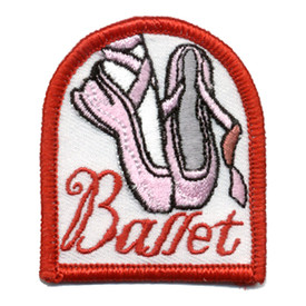 S-0449 Ballet (Pink Shoes) Patch