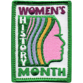S-5100 Women's History Month Patch