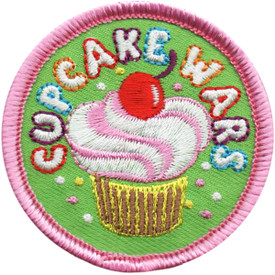 S-5108 Cupcake Wars Patch