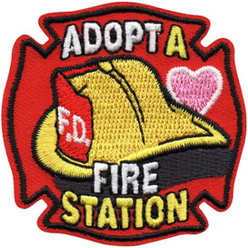 S-5129 Adopt A Fire Station Patch