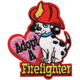 S-5132 Adopt A Firefighter Patch
