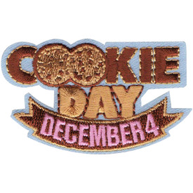 S-5136 Cookie Day December 4th Patch