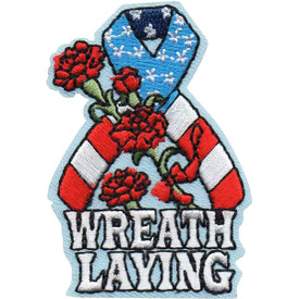 S-5137 Wreath Laying Patch