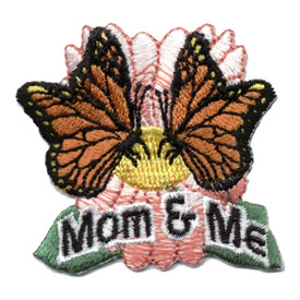 S-0456 Mom & Me (Butterflies) Patch