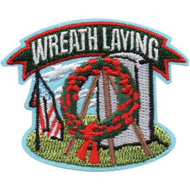 S-5141 Wreath Laying Patch