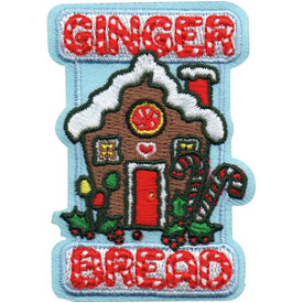 S-5143 Ginger Bread House Patch