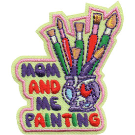 S-5148 Mom and Me Painting Patch