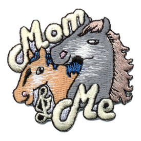 S-0458 Mom & Me (Horses) Patch
