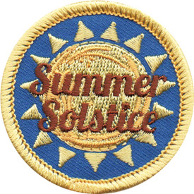 S-5168 Summer Solstice Patch