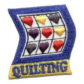 S-0460 Quilting Patch