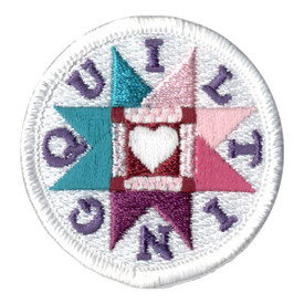 S-0464 Quilting - Circle Patch
