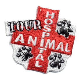 S-0468 Animal Hospital Tour Patch