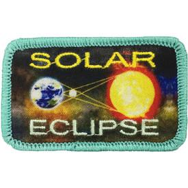 S-5233 Solar Eclipse Patch