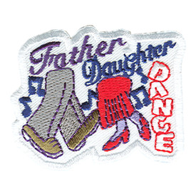 S-0470 Father Daughter Dance Patch
