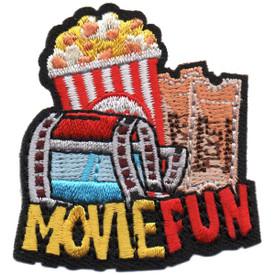 S-5257 Movie Fun Patch