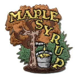 S-0471 Maple Syrup Patch