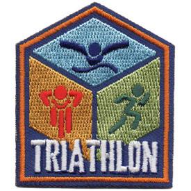S-5259 Triathlon Patch