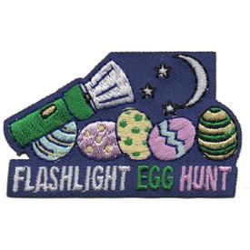 S-5273 Flashlight Egg Hunt Patch