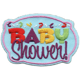 S-5275 Baby Shower Patch