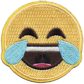 S-5278 Emoji - Tears of Joy Patch