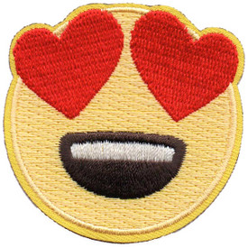 S-5279 Emoji - Heart Eyes Patch