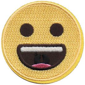 S-5280 Emoji - Grinning Patch