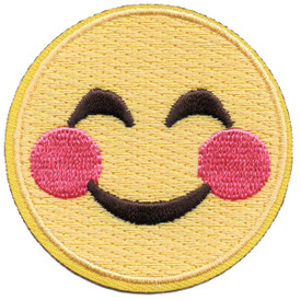 S-5283 Emoji - Smiling Eyes Patch