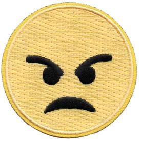 S-5284 Emoji - Angry Patch