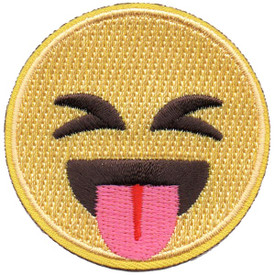 S-5286 Emoji - Tongue Out Patch