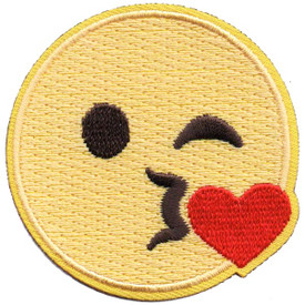 S-5287 Emoji - Blow Kiss Patch