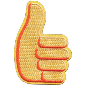 S-5289 Emoji- Thumbs Up Patch