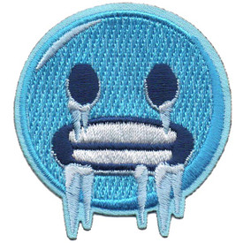 S-5291 Emoji - Cold Face Patch
