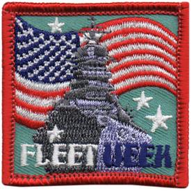 S-5293 Fleet Week Patch