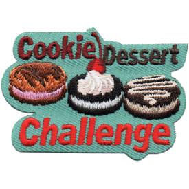 S-5306 Cookie Dessert Challenge Patch
