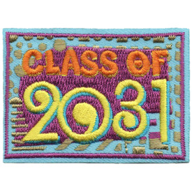 S-5325 Class of 2031 Patch