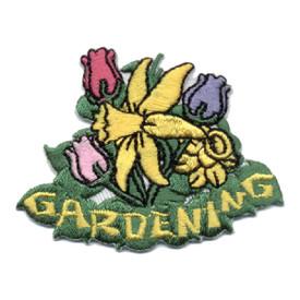 S-0480 Gardening (Flowers) Patch