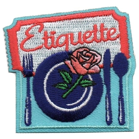 S-5356 Etiquette Patch