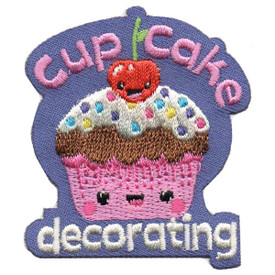 S-5358 Cupcake  Decorating Patch