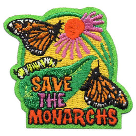 S-5367 Save The Monarchs Patch